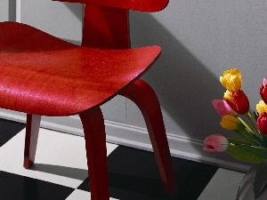 Tulips, Chair