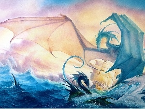 sailing vessel, Dragons