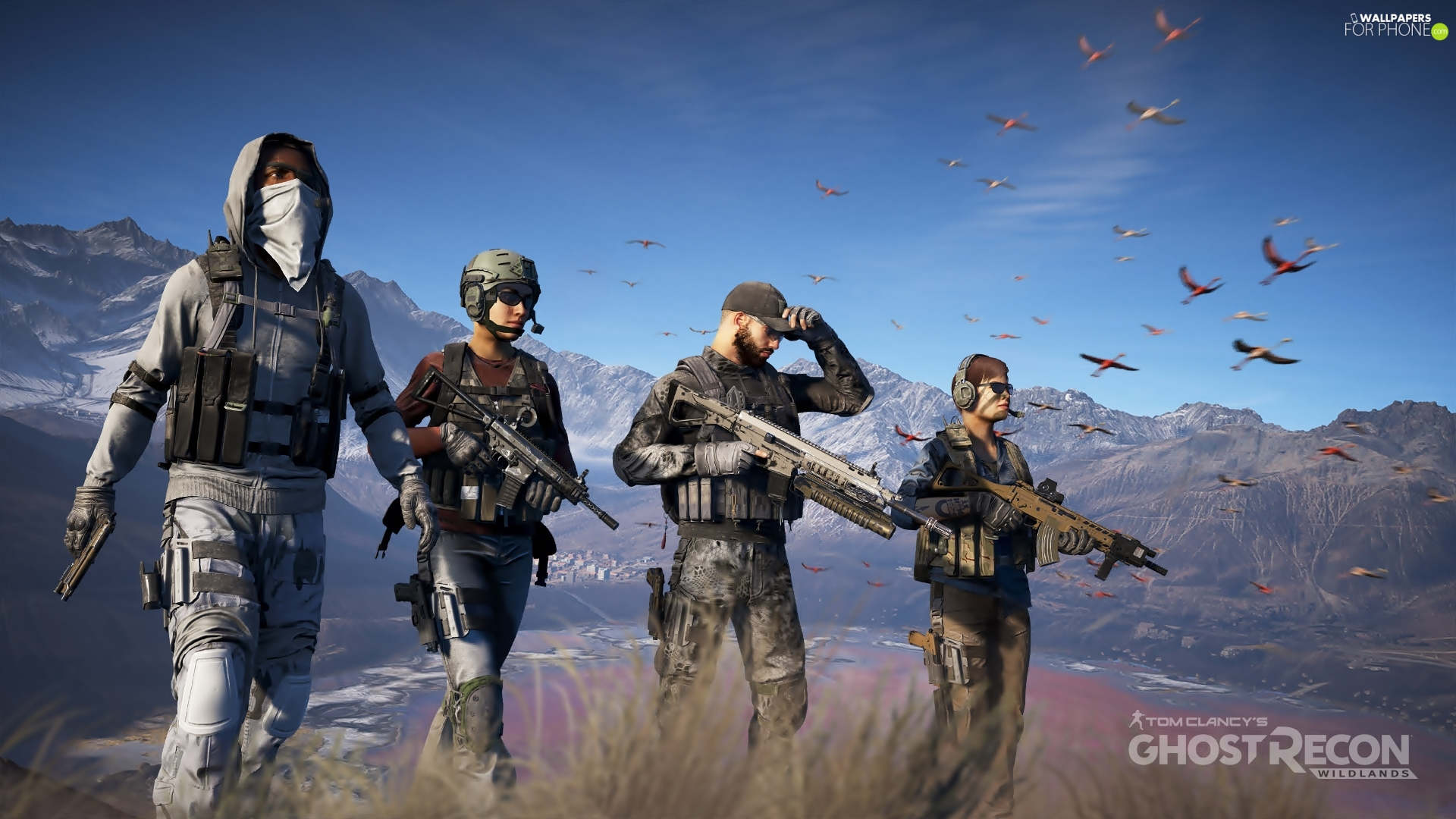 soldiers, Tom Clancys Ghost Recon : Wildlands