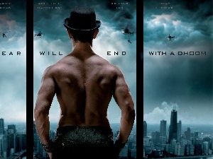 a man, Dhoom 3, 2013
