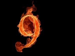 9, Fire, number