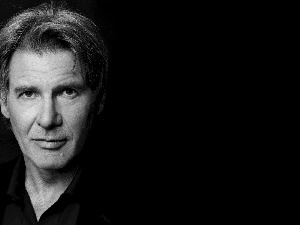 portrait, Harrison Ford, actor