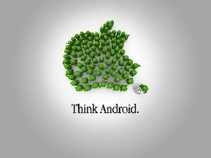 Android, Apple, humans