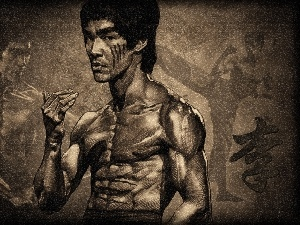 Bruce Lee, Drawing