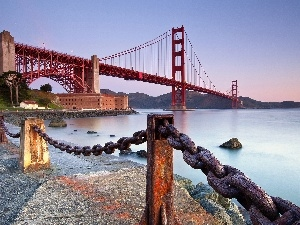bridge, San Francisco, California, Golden Gate