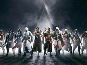 game, Characters, series, Assassins Creed