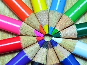 color, crayons