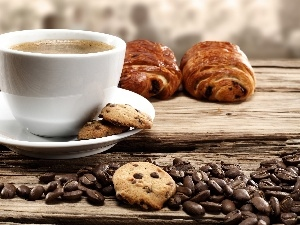 coffee, cookies, Cup, grains