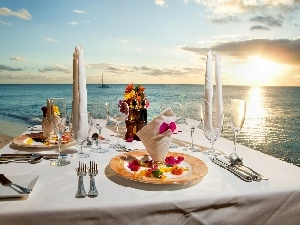 beach, breakfast, east, sun, sea, an