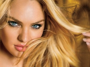 Blonde, Candice Swanepoel, face