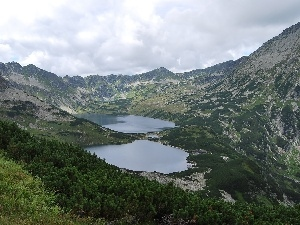 lakes, Tatras, Five Ponds Valley