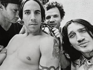 Chad Smith, Flea, John Frusciante, Anthony Kiedis