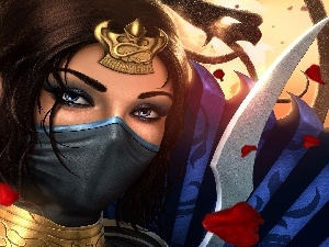 Mortal Kombat, Kitana, game
