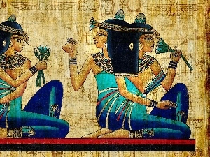 Goddesses, Womens, ancient, Egypt, picture