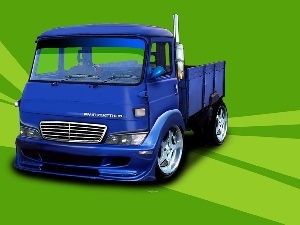 lorry, crate, graphics, Avia