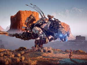 Thunderjaw Machine, game, Horizon Zero Dawn