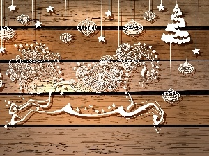 2014, decoration, horse, graphics, year, Christmas