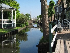 Houses, Netherlands, canal