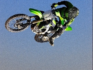 Kawasaki KX450F Monster Energy, jump