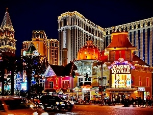 Las Vegas, Night