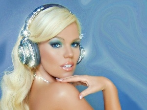 HEADPHONES, Women, make-up