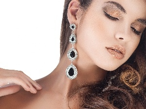jewellery, Women, make-up