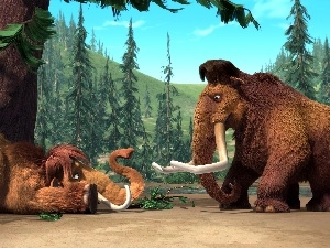 mammoths, Ice Age 2, Ice Age
