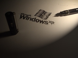 paper, pen, XP, card, windows