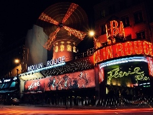 France, Moulin Rouge, Paris