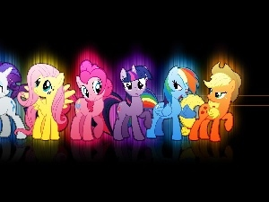 Friendship is Magic, ponies
