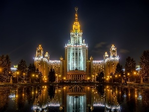 Russia, university, Moscow