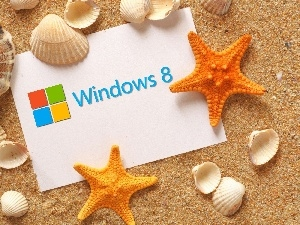 Shells, Windows 8, Sand