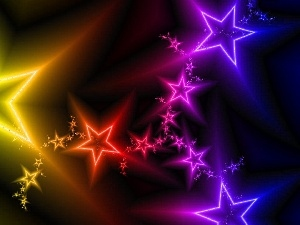 Stars, abstraction, color