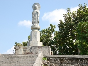 india, Stairs, Statue monument