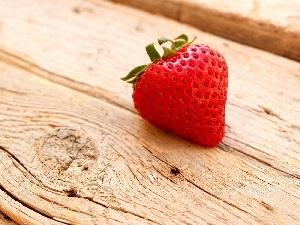 Strawberry, Wooden, board