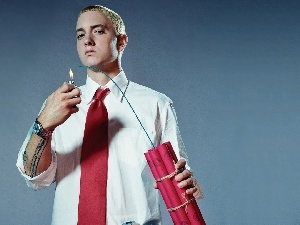 Eminem, lighter, Tie, dynamite