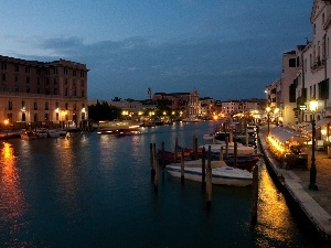 Venetian, large, canal