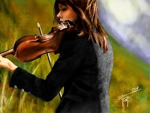 picture, lindsey stirling, violin