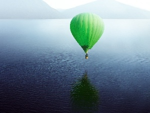 water, Green, Balloon
