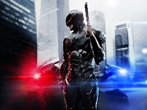 Weapons, motor-bike, 2014, Robocop, movie