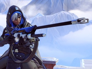 Women, Ana, Overwatch, brave, game