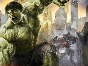 works, Hulk, muscle