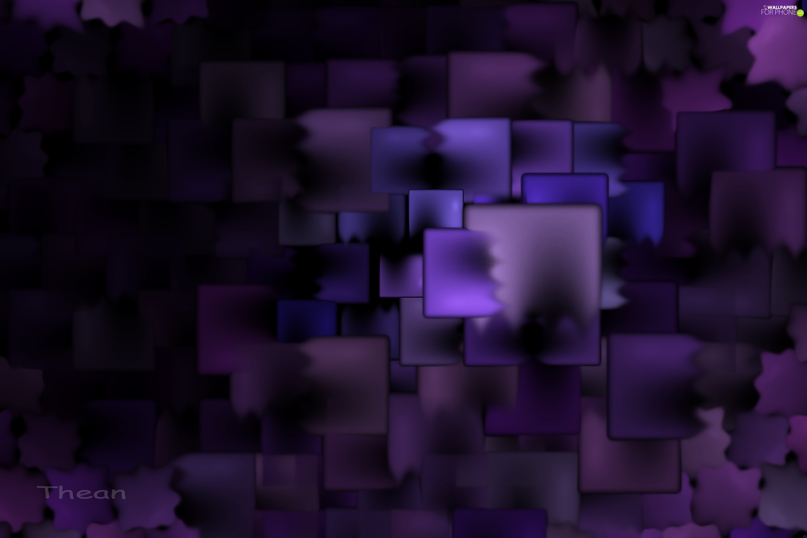 abstraction, Violet, graphics