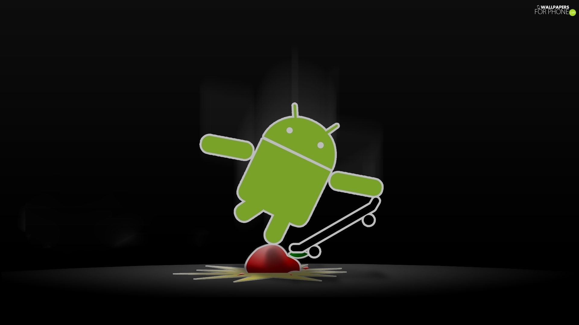 Apple, Android, skate