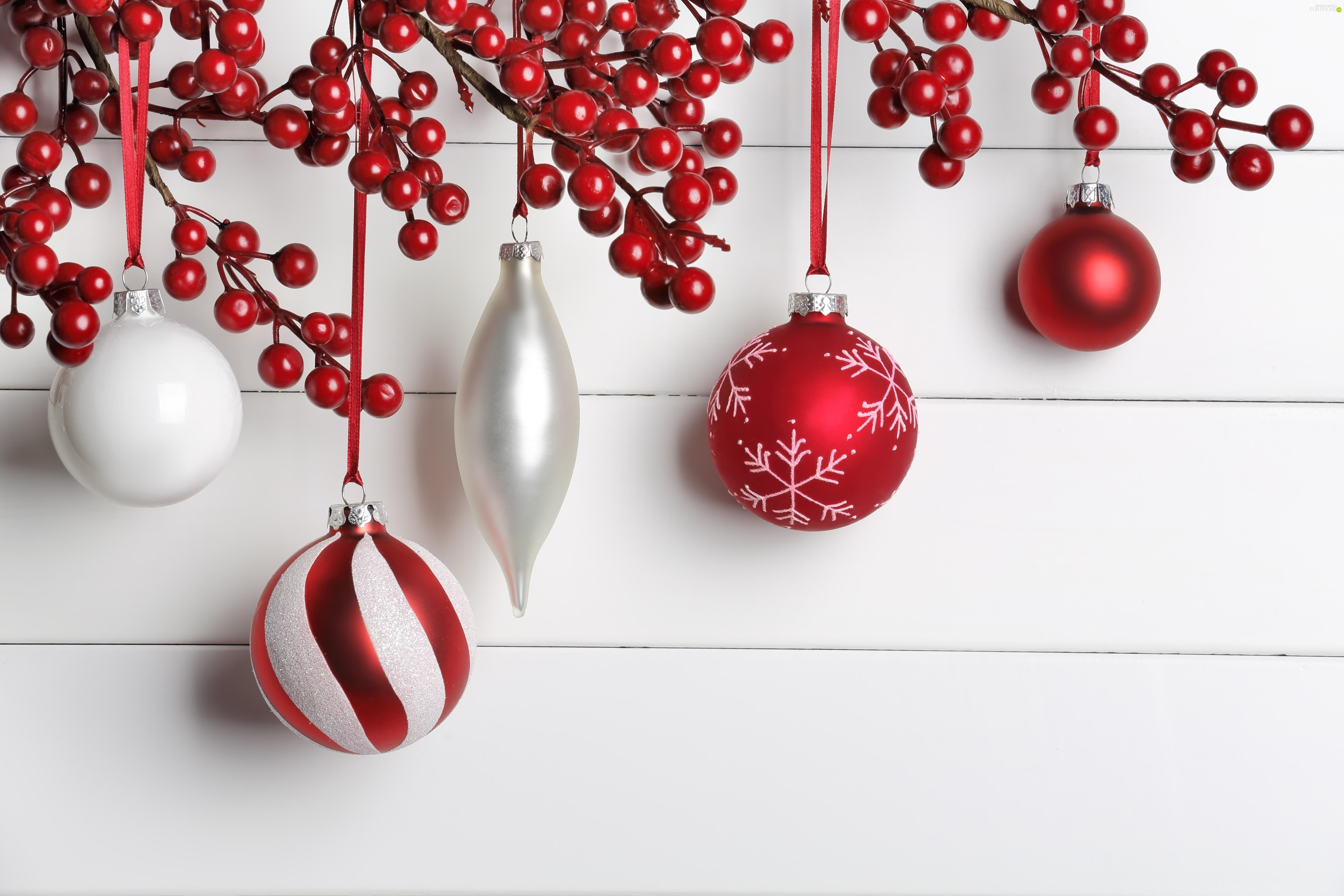 white, decoration, Christmas, red hot