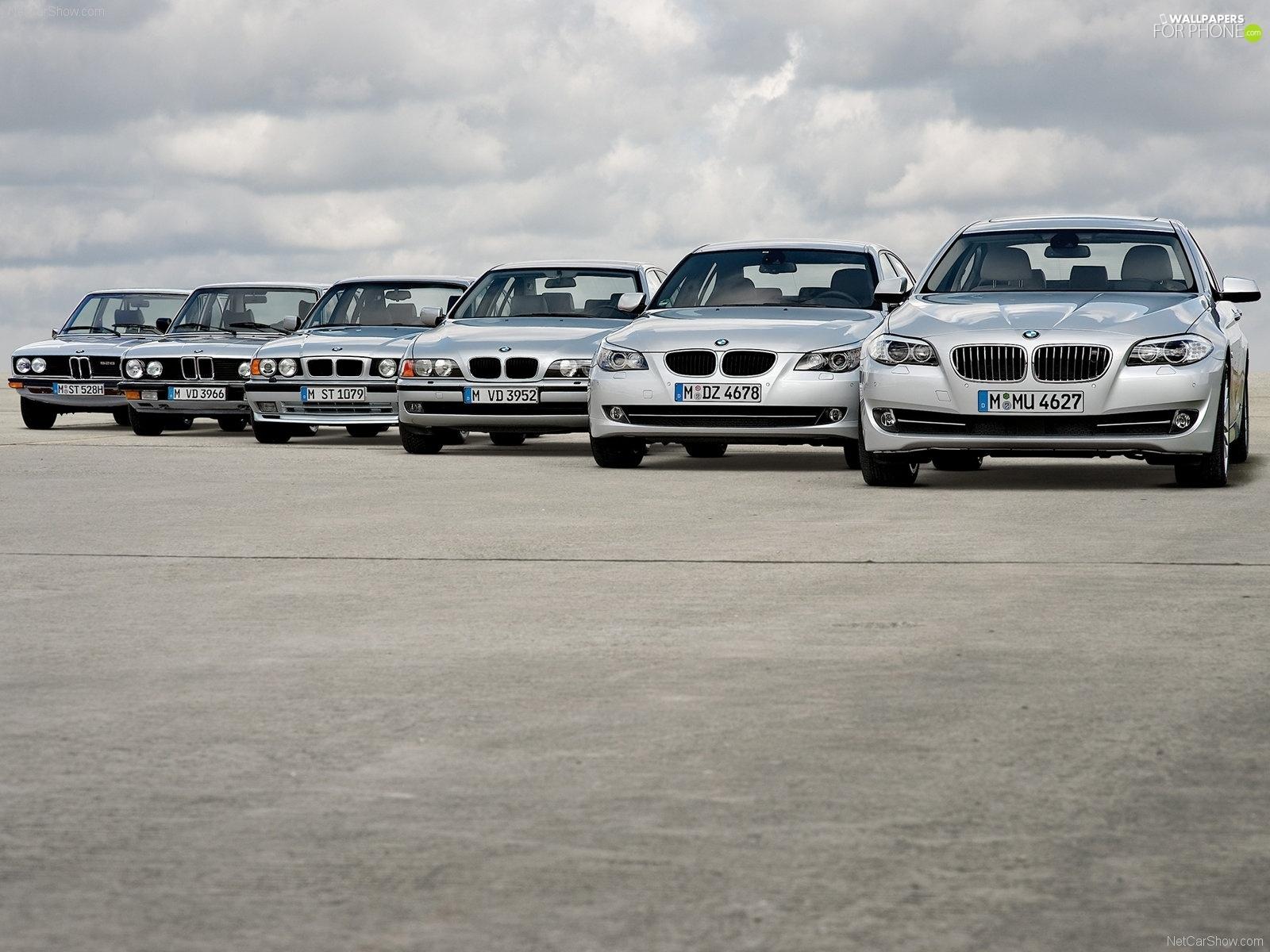 BMW F10, E39, E34, E60 - For phone wallpapers: 1600x1200