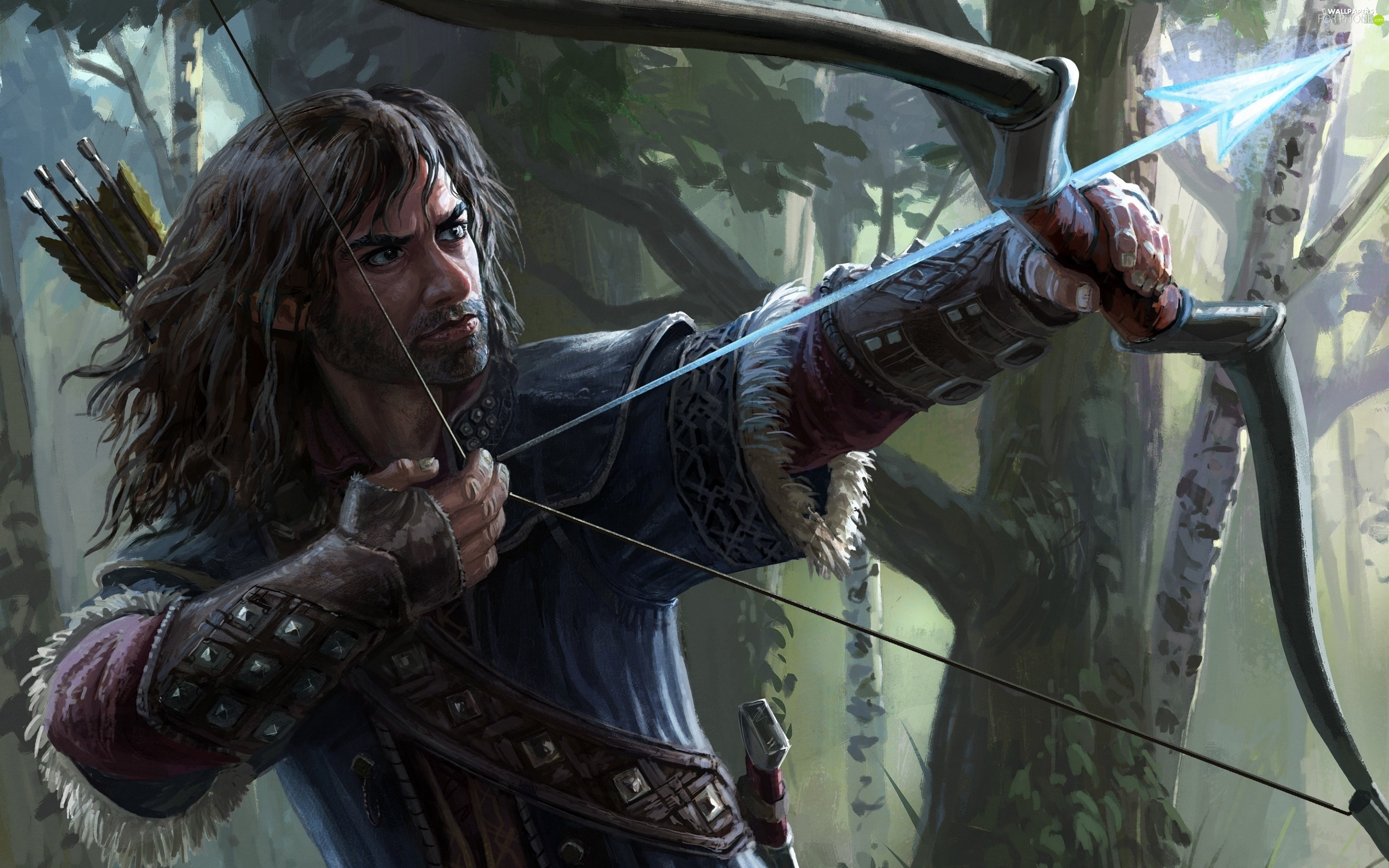 Bow, Arrow, The Lord of The Rings, Archer, game