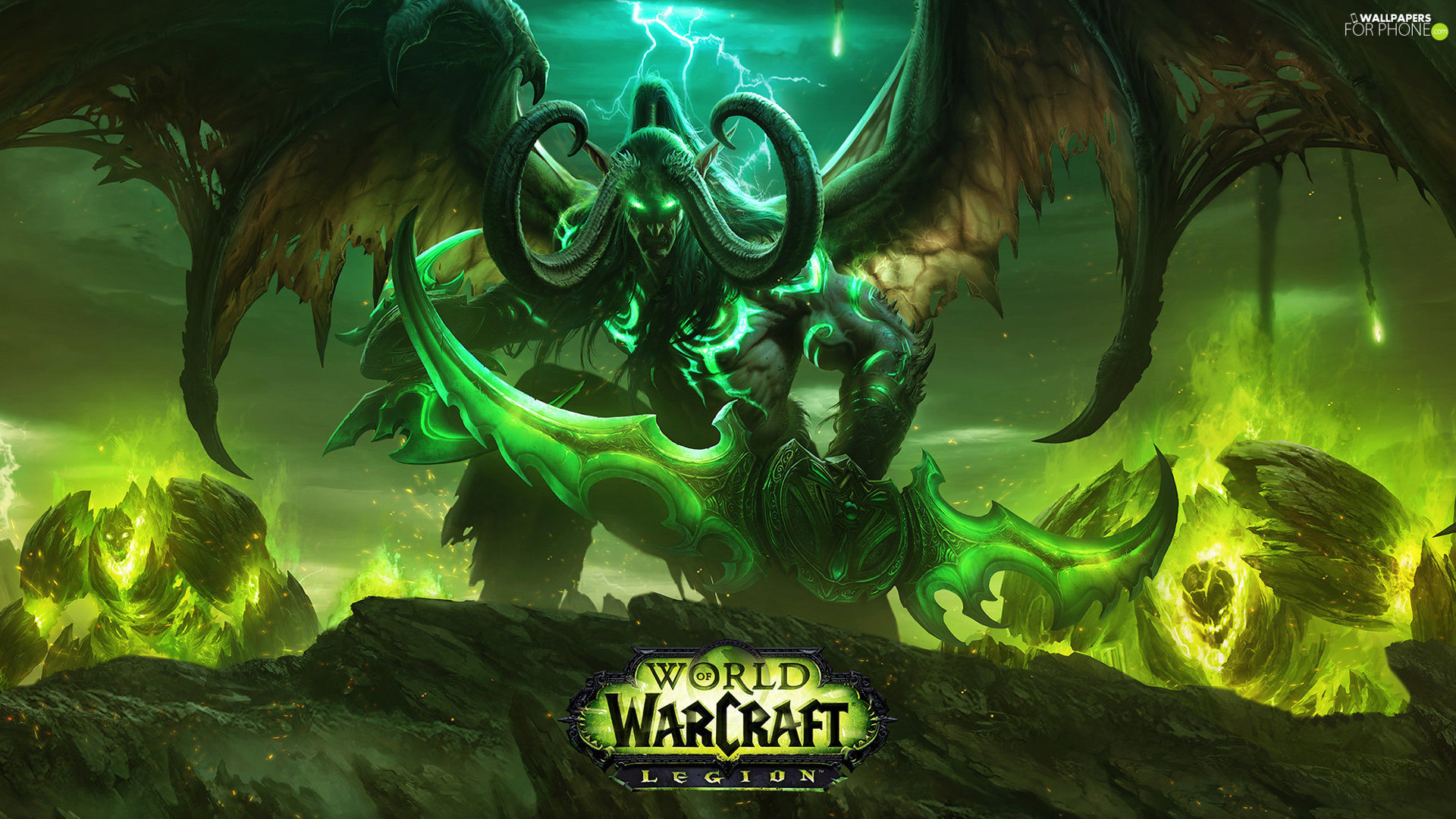 Illidan Stormrage, game, World of Warcraft: Legion